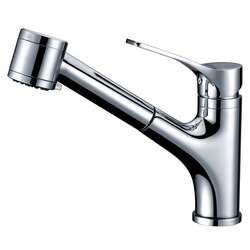 DAWN AB50 3709C SINGLE-LEVER PULL-OUT SPRAY KITCHEN FAUCET IN CHROME