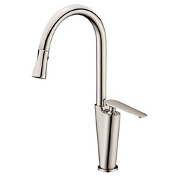 DAWN AB27 3602BN SINGLE-LEVER KITCHEN FAUCET IN BRUSHED NICKEL
