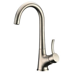 DAWN AB50 3714BN SINGLE-LEVER BAR FAUCET IN BRUSHED NICKEL