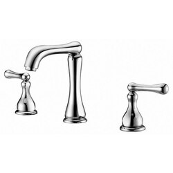 DAWN AB08 1155C WIDESPREAD LAVATORY FAUCET FOR 8 INCH CENTERS IN CHROME