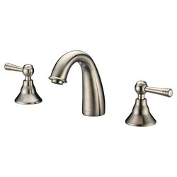 DAWN AB12 1018BN WIDESPREAD LAVATORY FAUCET IN BRUSHED NICKEL