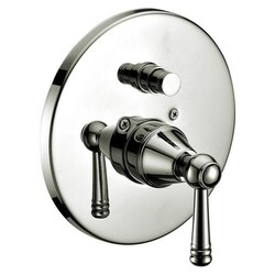 DAWN D2225601BN PRESSURE BALANCING DIVERTER VALVE TRIM IN BRUSHED NICKEL
