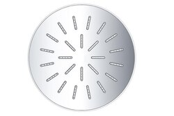 DAWN RSS0930100-6 SINGLE FUNCTION 6 INCH ROUND RAIN SHOWERHEAD IN CHROME