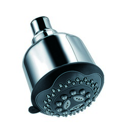 DAWN SH0060100 3-9/16 INCH MULTIFUNCTION SHOWERHEAD IN CHROME
