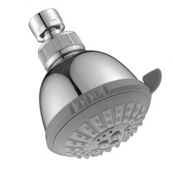 DAWN SH0070100 3-1/8 INCH MULTIFUNCTION SHOWERHEAD IN CHROME