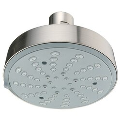 DAWN SH0160400 4-1/8 INCH MULTIFUNCTION SHOWERHEAD IN BRUSHED NICKEL