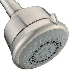 DAWN SHM090400 3-1/2 INCH MULTIFUNCTION SHOWERHEAD IN BRUSHED NICKEL