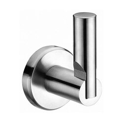 DAWN 94010040S ROUND SERIES SINGLE ROBE HOOK IN POLISHED SATIN