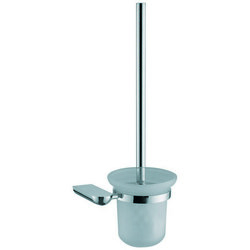 DAWN 95011001C TOILET BRUSH AND GLASS TUMBLER HOLDER IN CHROME