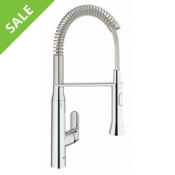 SALE! GROHE 31 380 000 K7 SINGLE-HANDLE KITCHEN FAUCET IN CHROME