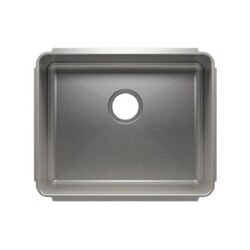 JULIEN 003216 CLASSIC 22 1/2 * 18 1/2 * 10 UNDERMOUNT SINGLE BOWL STAINLESS STEEL KITCHEN SINK