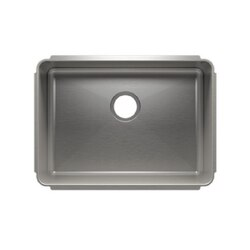 JULIEN 003217 CLASSIC 25 1/2 * 18 1/2 * 10 UNDERMOUNT SINGLE BOWL STAINLESS STEEL KITCHEN SINK
