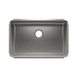 JULIEN 003218 CLASSIC 28 1/2 * 18 1/2 * 10 UNDERMOUNT SINGLE BOWL STAINLESS STEEL KITCHEN SINK