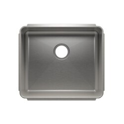 JULIEN 003224 CLASSIC 22 1/2 * 19 1/2 * 10 UNDERMOUNT SINGLE BOWL STAINLESS STEEL KITCHEN SINK