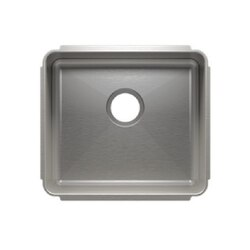 JULIEN 003244 CLASSIC 19 1/2 * 17 1/2 * 10 UNDERMOUNT SINGLE BOWL STAINLESS STEEL KITCHEN SINK