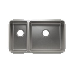 JULIEN 003246 CLASSIC 29 1/2 * 17 1/2 * 10 UNDERMOUNT DOUBLE BOWL STAINLESS STEEL KITCHEN SINK