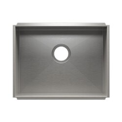 JULIEN 003607 URBANEDGE 22 1/2 * 17 1/2 * 10 UNDERMOUNT SINGLE BOWL STAINLESS STEEL KITCHEN SINK