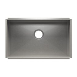 JULIEN 003611 URBANEDGE 28 1/2 * 17 1/2 * 8 UNDERMOUNT SINGLE BOWL STAINLESS STEEL KITCHEN SINK