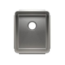 JULIEN 003222 CLASSIC 16 1/2 * 19 1/2 * 10 UNDERMOUNT SINGLE BOWL STAINLESS STEEL KITCHEN SINK