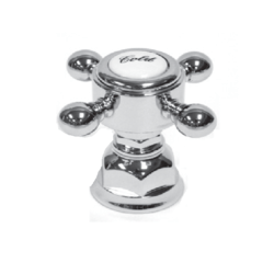 ROHL C7670XM ITALIAN KITCHEN AND BATH CROSS HANDLE WITH BELL HOUSING