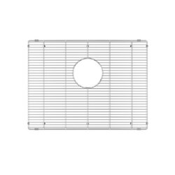 JULIEN 200906 GRID FOR STAINLESS STEEL, URBANEDGE, J7 AND CLASSIC SINKS, 21 X 16 INCH IN ELECTRO POLISH FINISH