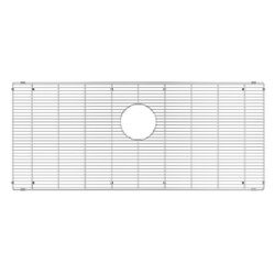 JULIEN 200911 GRID FOR STAINLESS STEEL, URBANEDGE, J7 AND CLASSIC SINKS, 9 X 16 INCH IN ELECTRO POLISH FINISH