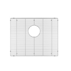 JULIEN 200912 GRID FOR STAINLESS STEEL, URBANEDGE, J7 AND CLASSIC SINKS, 21 X 17 INCH IN ELECTRO POLISH FINISH