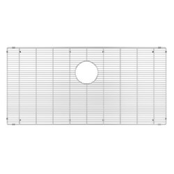 JULIEN 200923 GRID FOR STAINLESS STEEL, URBANEDGE, J7 AND CLASSIC SINKS, 36 X 18 INCH IN ELECTRO POLISH FINISH