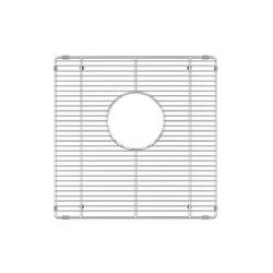 JULIEN 200926 GRID FOR STAINLESS STEEL, URBANEDGE, J7 AND CLASSIC BAR SINKS, 15 X 15 INCH IN ELECTRO POLISH FINISH