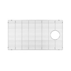 JULIEN 200927 GRID FOR STAINLESS STEEL, URBANEDGE, J7 AND CLASSIC SINKS, 30 X 17 INCH IN ELECTRO POLISH FINISH