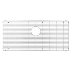 JULIEN 200932 GRID FOR STAINLESS STEEL, URBANEDGE, J7 AND CLASSIC SINKS, 36 X 17 INCH IN ELECTRO POLISH FINISH
