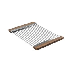JULIEN 215009 DRYING RACK 12 X 17 INCH FOR FIRA SINK WITH LEDGE IN WALNUT