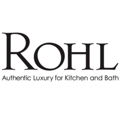 ROHL 9.01797H PERRIN & ROWE HOT CROSS HANDLE WITH DOMED PORCELAIN INSERT FOR KITCHEN FAUCETS AND GEORGIAN ERA PRODUCTS