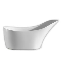 EVIVA EVTB6210-67WH LISA FREE STANDING 67 INCH ACRYLIC BATHTUB