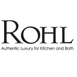 ROHL C7662 COUNTRY KITCHEN AND BATH PORCELAIN LEVER MONT BLANC WITHOUT TEMPERATURE INDICATOR