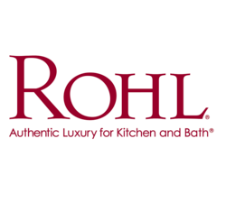 ROHL C7672PHFRENCH ITALIAN KITCHEN AND ITALIAN BATH WHITE PORCELAIN INSERT ONLY WITH HOT SCRIPT IN FRENCH CHAUD TO CROSS HANDLES