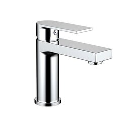 EVIVA EVFT1336BN PURE SINGLE HANDLE BATHROOM SINK FAUCET IN BRUSHED NICKEL