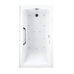 TOTO ABR782 CLAYTON 60 X 32 X 25 INCH TILE-IN AIR BATHTUB