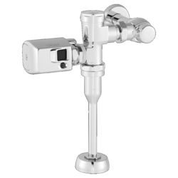 AMERICAN STANDARD 6045SM.101.002 MANUAL URINAL FLUSH VALVE WITH SIDE MOUNT OPERATOR IN POLISHED CHROME, 1.0 GPF