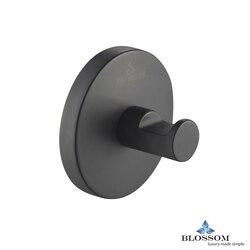 BLOSSOM BA02 501 04 ROBE HOOK  IN MATTE BLACK