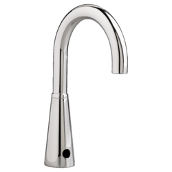 AMERICAN STANDARD 605B.165.002 SELECTRONIC GOOSENECK PROXIMITY BASE MODEL FAUCET IN POLISHED CHROME, 0.5 GPM