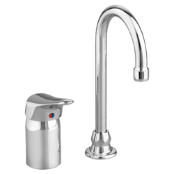 AMERICAN STANDARD 6114.300.002 MONTERREY SINGLE CONTROL GOOSENECK KITCHEN FAUCET WITH REMOTE VALVE IN POLISHED CHROME, 1.5 GPM