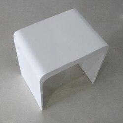 ICO V9711 BATHROOM STOOL IN GLOSS WHITE