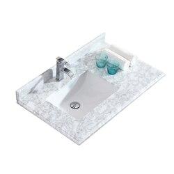 LAVIVA 313613-36-WC ODYSSEY 36 INCH WHITE CARRARA COUNTERTOP