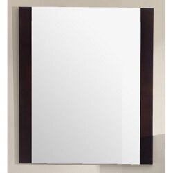 LAVIVA 313YG409-MR-B RUSHMORE 24 INCH MIRROR IN BROWN