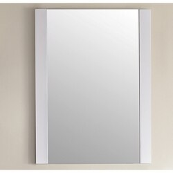 LAVIVA 313YG409-MR-W RUSHMORE 24 INCH MIRROR IN WHITE