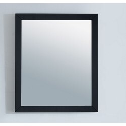 LAVIVA 313FF-2430E FULLY FRAMED 24 INCH MIRROR IN ESPRESSO