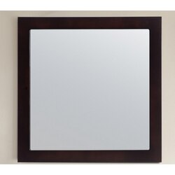 LAVIVA 313FF-3030E FULLY FRAMED 30 INCH MIRROR IN ESPRESSO