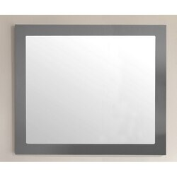LAVIVA 313FF-3630MG FULLY FRAMED 36 INCH MAPLE MIRROR IN GREY
