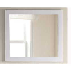 LAVIVA 313FF-3630W FULLY FRAMED 36 INCH MIRROR IN WHITE